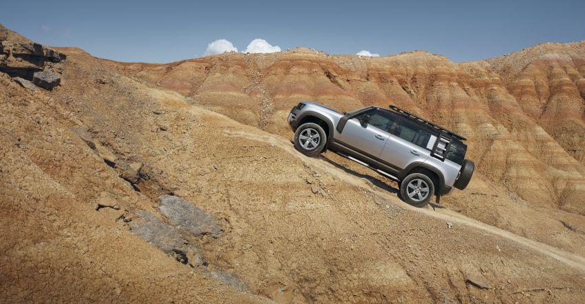 2020 Land Rover Defender debuts – aluminium monocoque, 3.0L mild-hybrid, OTA software support Image #1013169