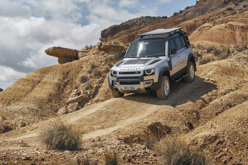 2020 Land Rover Defender debuts – aluminium monocoque, 3.0L mild-hybrid, OTA software support Image #1013170