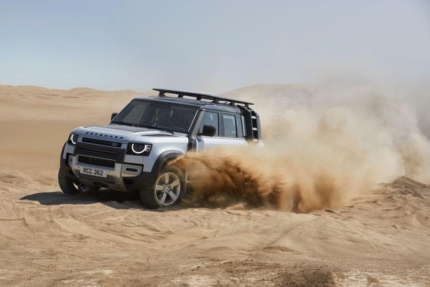 2020 Land Rover Defender debuts – aluminium monocoque, 3.0L mild-hybrid, OTA software support Image #1013171