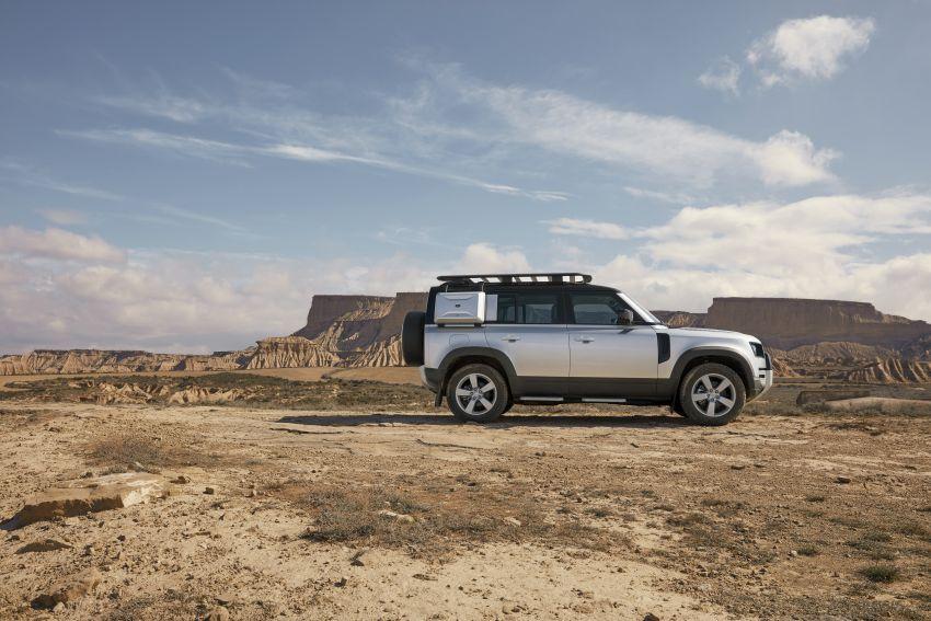 2020 Land Rover Defender debuts – aluminium monocoque, 3.0L mild-hybrid, OTA software support Image #1013174