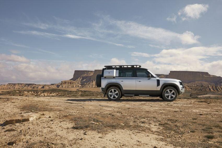 Land Rover Defender generasi baharu  muncul di Frankfurt 2019 – padat dengan segala teknologi terkini Image #1014080