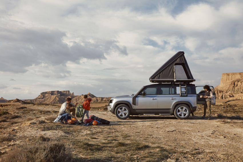 2020 Land Rover Defender debuts – aluminium monocoque, 3.0L mild-hybrid, OTA software support Image #1013175