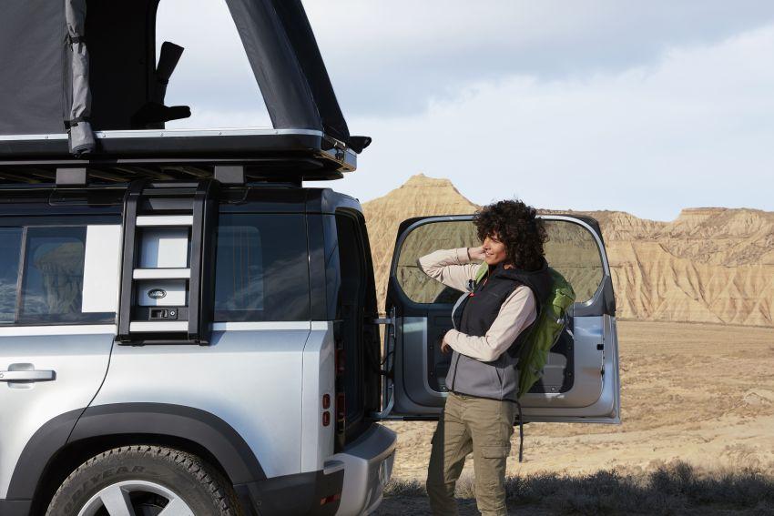 2020 Land Rover Defender debuts – aluminium monocoque, 3.0L mild-hybrid, OTA software support Image #1013176