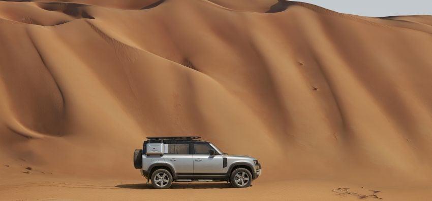 2020 Land Rover Defender debuts – aluminium monocoque, 3.0L mild-hybrid, OTA software support Image #1013177