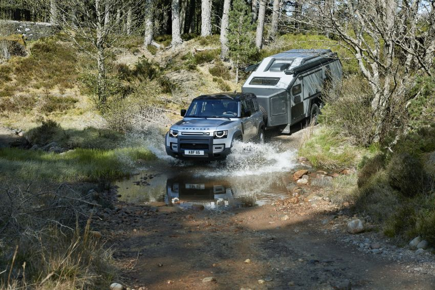 Land Rover Defender generasi baharu  muncul di Frankfurt 2019 – padat dengan segala teknologi terkini Image #1013865