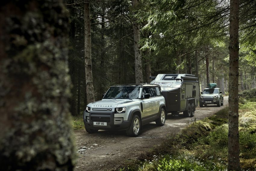 2020 Land Rover Defender debuts – aluminium monocoque, 3.0L mild-hybrid, OTA software support Image #1013180