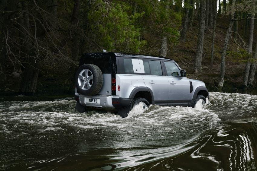 2020 Land Rover Defender debuts – aluminium monocoque, 3.0L mild-hybrid, OTA software support Image #1013181