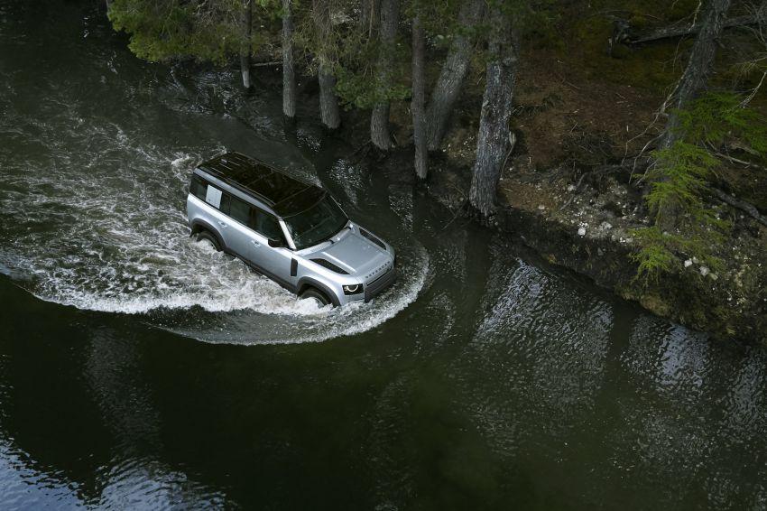 2020 Land Rover Defender debuts – aluminium monocoque, 3.0L mild-hybrid, OTA software support Image #1013182