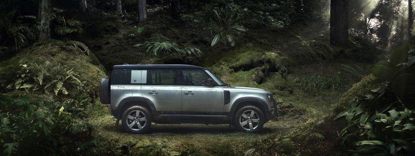 2020 Land Rover Defender debuts – aluminium monocoque, 3.0L mild-hybrid, OTA software support Image #1013184