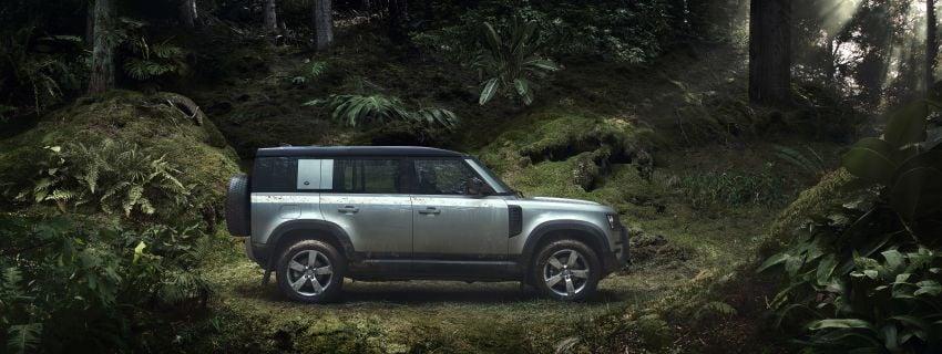 Land Rover Defender generasi baharu  muncul di Frankfurt 2019 – padat dengan segala teknologi terkini Image #1013884