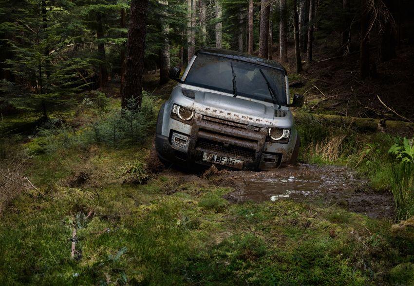2020 Land Rover Defender debuts – aluminium monocoque, 3.0L mild-hybrid, OTA software support Image #1013186