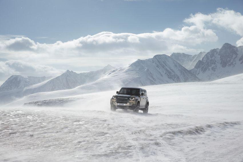 2020 Land Rover Defender debuts – aluminium monocoque, 3.0L mild-hybrid, OTA software support Image #1013187