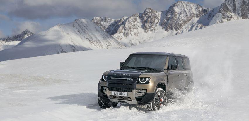 2020 Land Rover Defender debuts – aluminium monocoque, 3.0L mild-hybrid, OTA software support Image #1013188