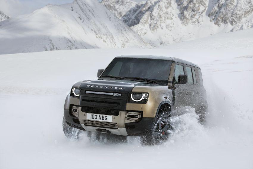 2020 Land Rover Defender debuts – aluminium monocoque, 3.0L mild-hybrid, OTA software support Image #1013190