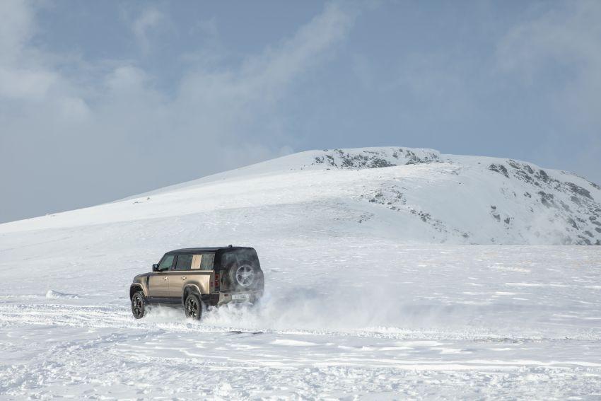 2020 Land Rover Defender debuts – aluminium monocoque, 3.0L mild-hybrid, OTA software support Image #1013194