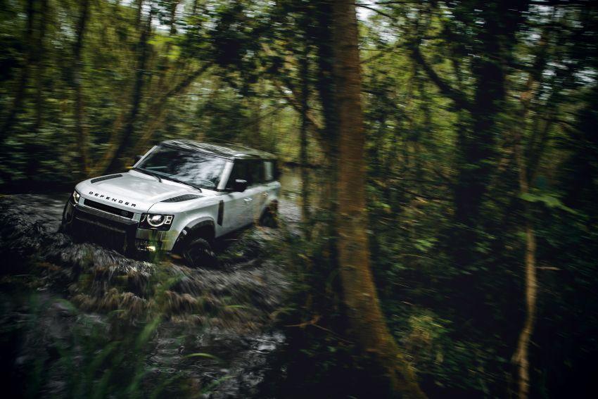 2020 Land Rover Defender debuts – aluminium monocoque, 3.0L mild-hybrid, OTA software support Image #1013196