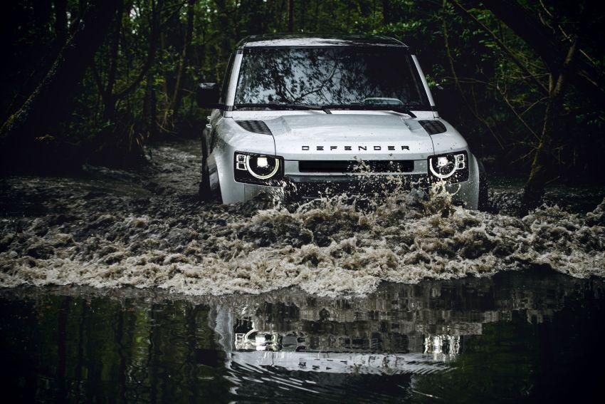 2020 Land Rover Defender debuts – aluminium monocoque, 3.0L mild-hybrid, OTA software support Image #1013197