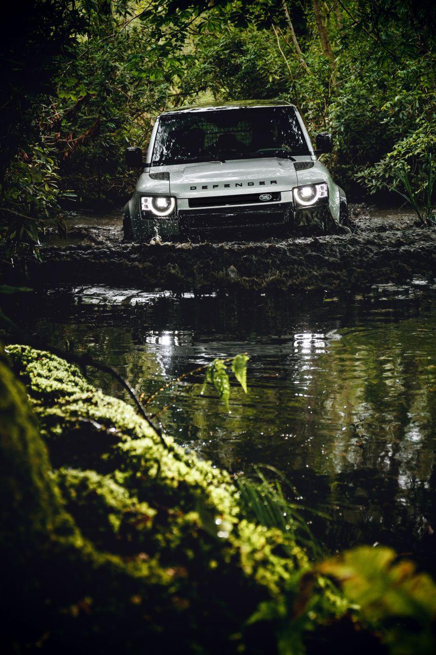 2020 Land Rover Defender debuts – aluminium monocoque, 3.0L mild-hybrid, OTA software support Image #1013198