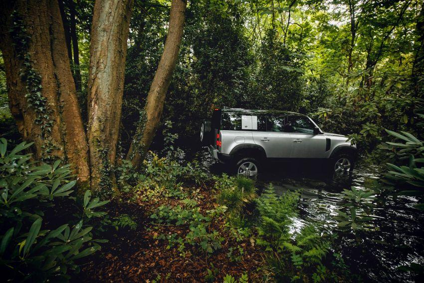 2020 Land Rover Defender debuts – aluminium monocoque, 3.0L mild-hybrid, OTA software support Image #1013199