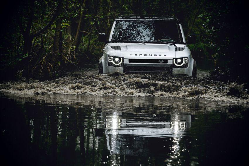 2020 Land Rover Defender debuts – aluminium monocoque, 3.0L mild-hybrid, OTA software support Image #1013200