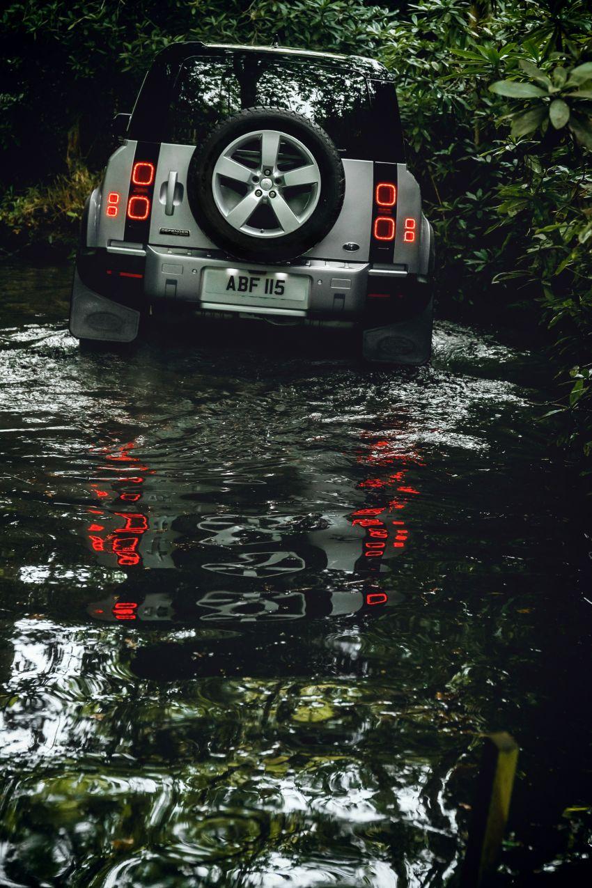 2020 Land Rover Defender debuts – aluminium monocoque, 3.0L mild-hybrid, OTA software support Image #1013201