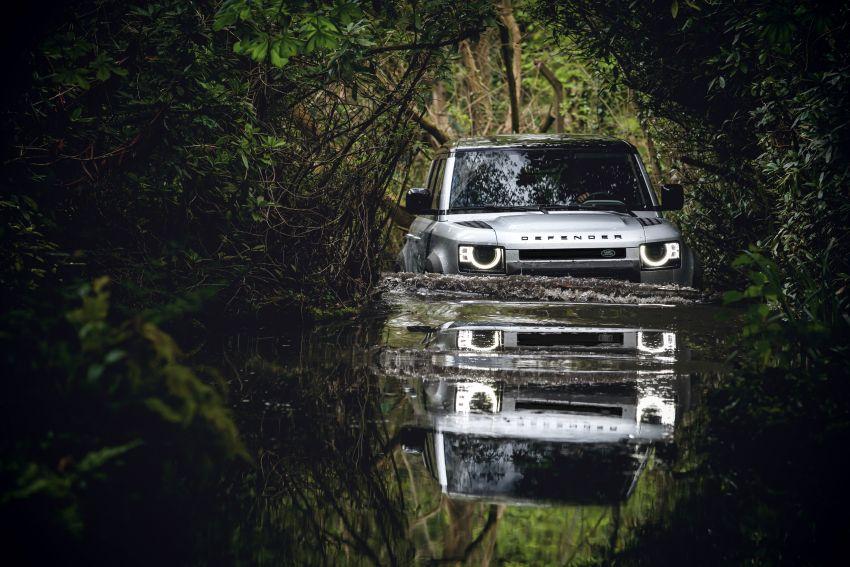 2020 Land Rover Defender debuts – aluminium monocoque, 3.0L mild-hybrid, OTA software support Image #1013204