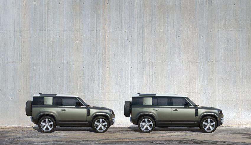 2020 Land Rover Defender debuts – aluminium monocoque, 3.0L mild-hybrid, OTA software support Image #1013277