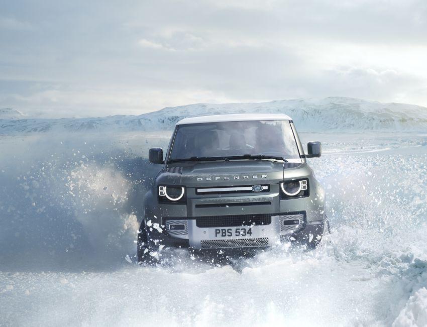 2020 Land Rover Defender debuts – aluminium monocoque, 3.0L mild-hybrid, OTA software support Image #1013208