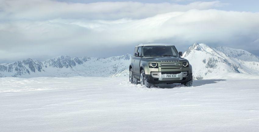 2020 Land Rover Defender debuts – aluminium monocoque, 3.0L mild-hybrid, OTA software support Image #1013209
