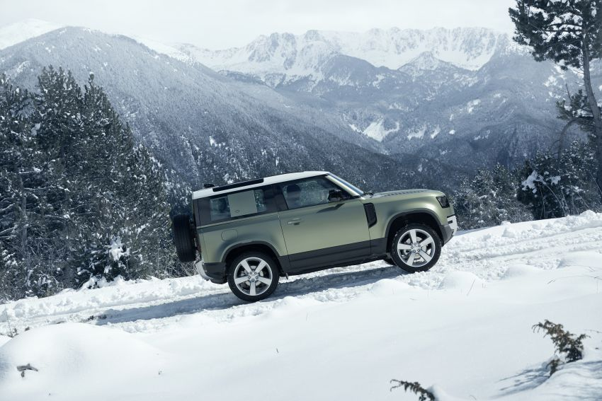 2020 Land Rover Defender debuts – aluminium monocoque, 3.0L mild-hybrid, OTA software support Image #1013210