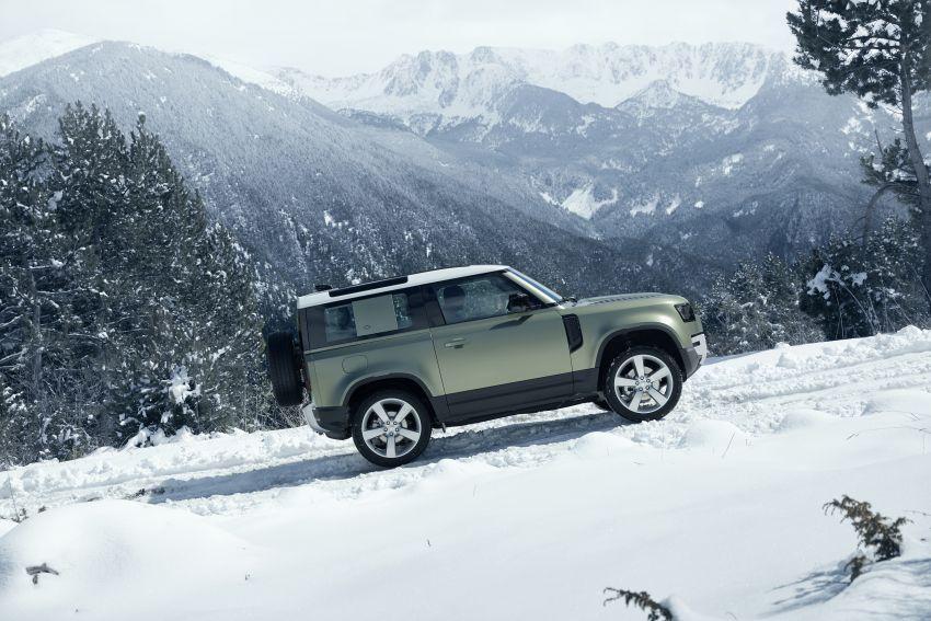 Land Rover Defender generasi baharu  muncul di Frankfurt 2019 – padat dengan segala teknologi terkini Image #1013775