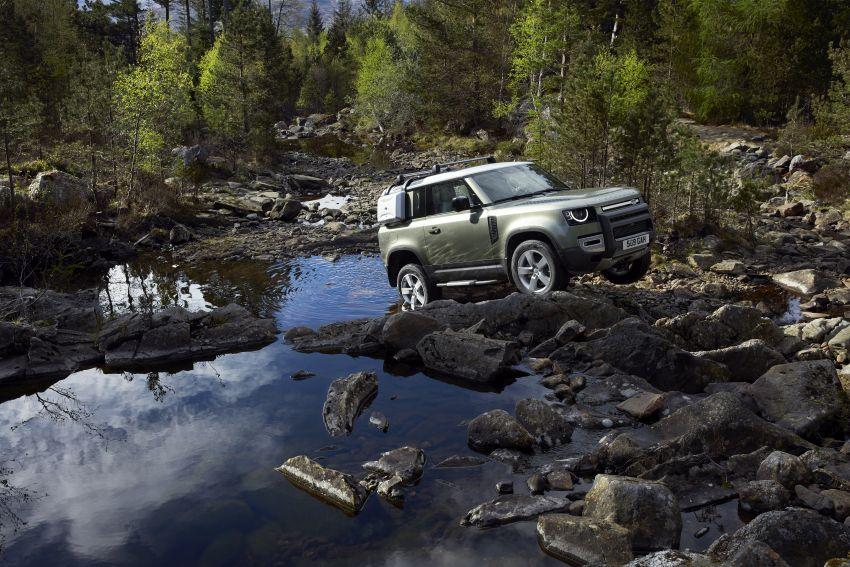 2020 Land Rover Defender debuts – aluminium monocoque, 3.0L mild-hybrid, OTA software support Image #1013212