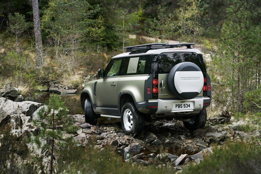 2020 Land Rover Defender debuts – aluminium monocoque, 3.0L mild-hybrid, OTA software support Image #1013213