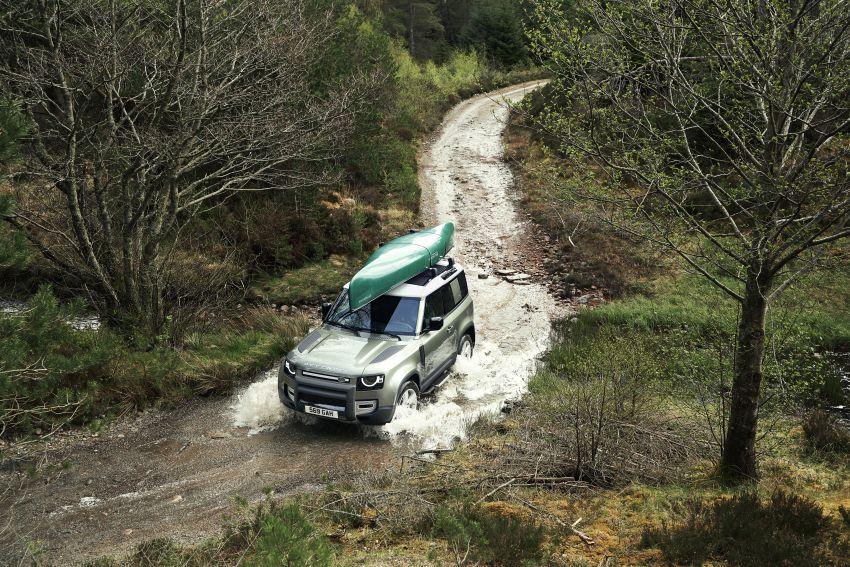 2020 Land Rover Defender debuts – aluminium monocoque, 3.0L mild-hybrid, OTA software support Image #1013218
