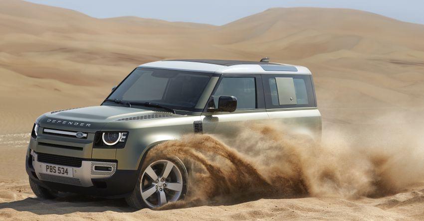 2020 Land Rover Defender debuts – aluminium monocoque, 3.0L mild-hybrid, OTA software support Image #1013219