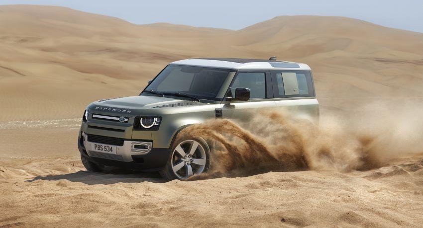 Land Rover Defender generasi baharu  muncul di Frankfurt 2019 – padat dengan segala teknologi terkini Image #1013726