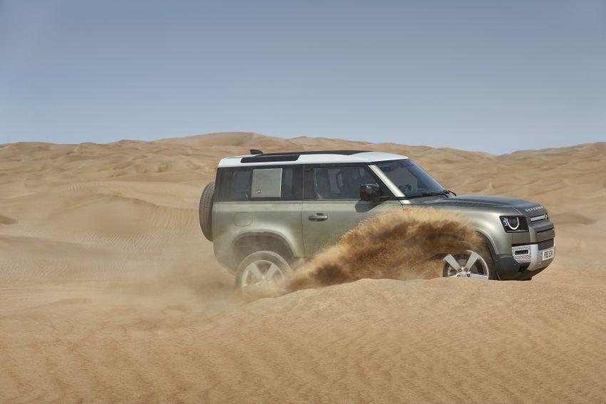 2020 Land Rover Defender debuts – aluminium monocoque, 3.0L mild-hybrid, OTA software support Image #1013220