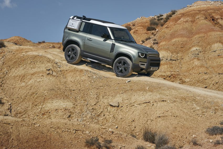 2020 Land Rover Defender debuts – aluminium monocoque, 3.0L mild-hybrid, OTA software support Image #1013223