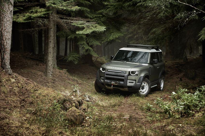2020 Land Rover Defender debuts – aluminium monocoque, 3.0L mild-hybrid, OTA software support Image #1013224