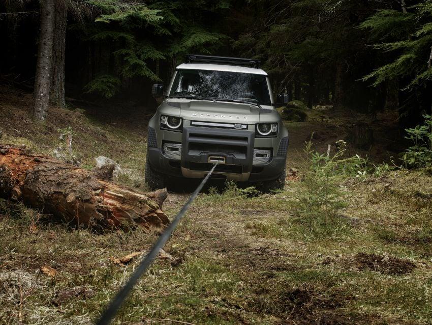 2020 Land Rover Defender debuts – aluminium monocoque, 3.0L mild-hybrid, OTA software support Image #1013225