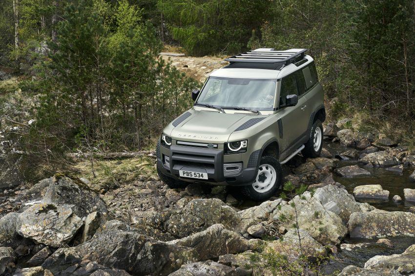 2020 Land Rover Defender debuts – aluminium monocoque, 3.0L mild-hybrid, OTA software support Image #1013226