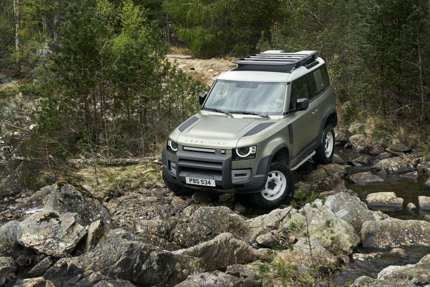 Land Rover Defender generasi baharu  muncul di Frankfurt 2019 – padat dengan segala teknologi terkini Image #1013698