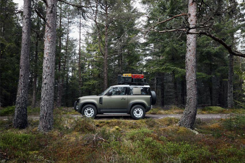 2020 Land Rover Defender debuts – aluminium monocoque, 3.0L mild-hybrid, OTA software support Image #1013227