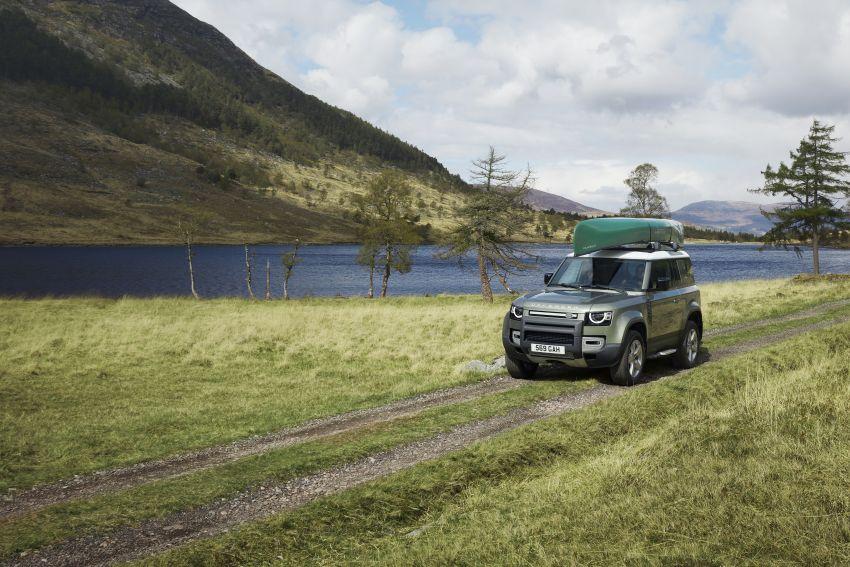 2020 Land Rover Defender debuts – aluminium monocoque, 3.0L mild-hybrid, OTA software support Image #1013228