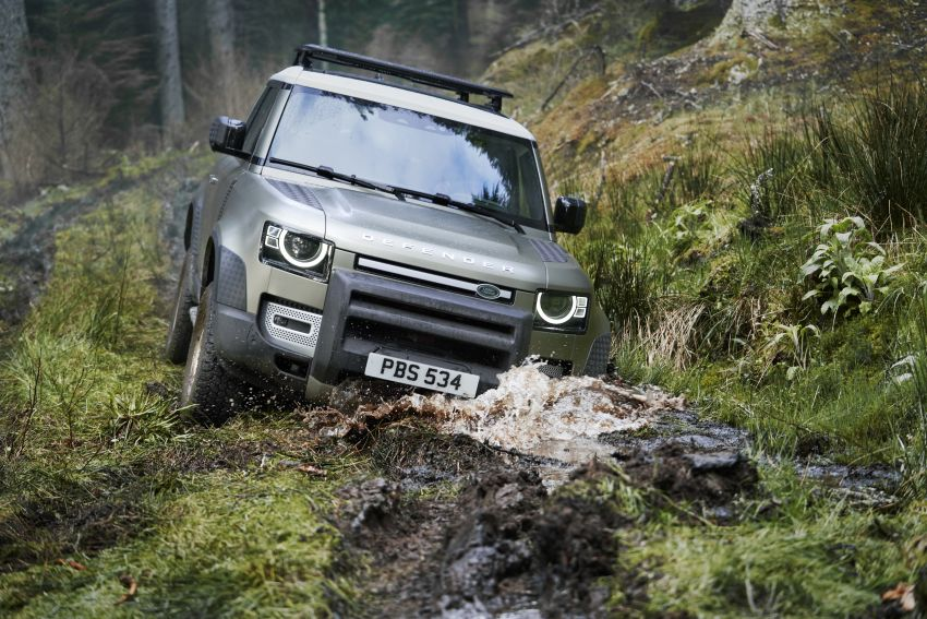2020 Land Rover Defender debuts – aluminium monocoque, 3.0L mild-hybrid, OTA software support Image #1013229