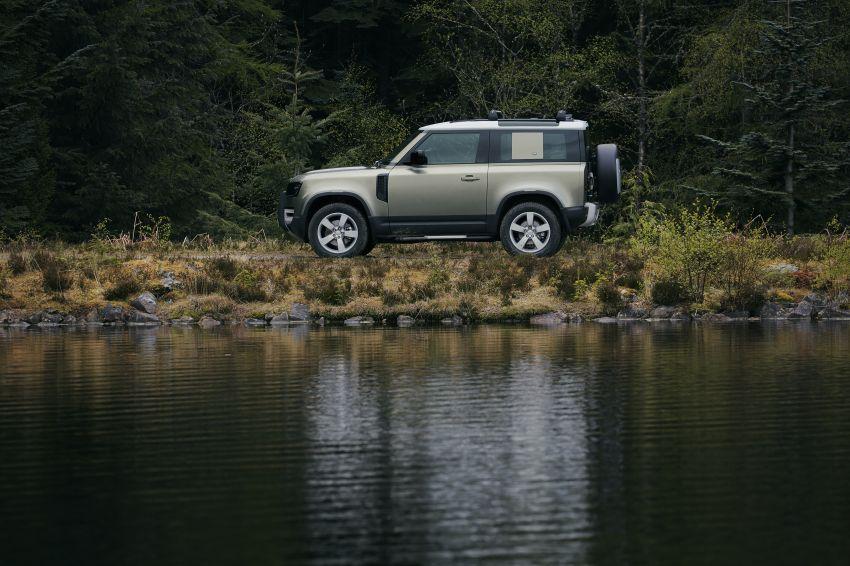 2020 Land Rover Defender debuts – aluminium monocoque, 3.0L mild-hybrid, OTA software support Image #1013230