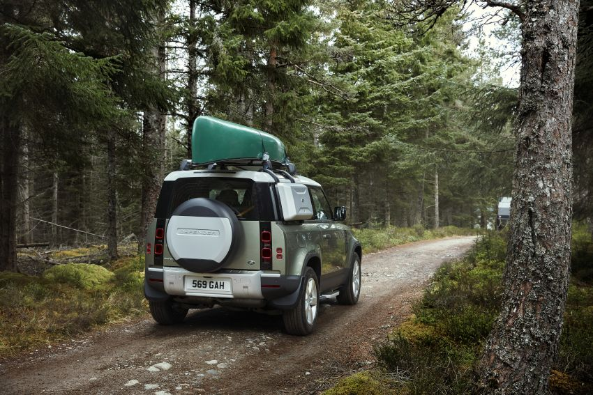 2020 Land Rover Defender debuts – aluminium monocoque, 3.0L mild-hybrid, OTA software support Image #1013231