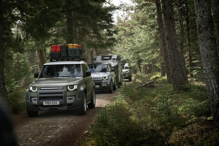 2020 Land Rover Defender debuts – aluminium monocoque, 3.0L mild-hybrid, OTA software support Image #1013233