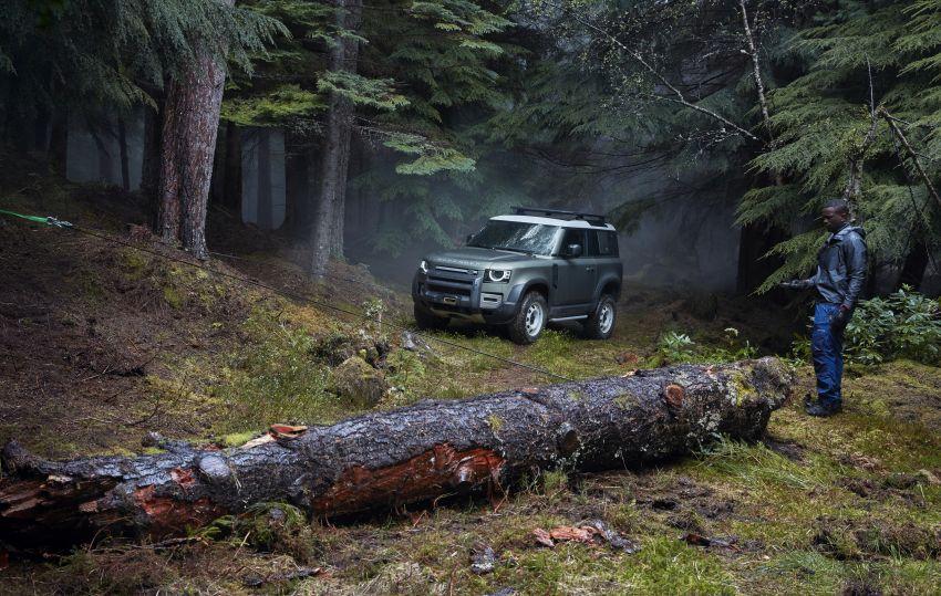 Land Rover Defender generasi baharu  muncul di Frankfurt 2019 – padat dengan segala teknologi terkini Image #1013457