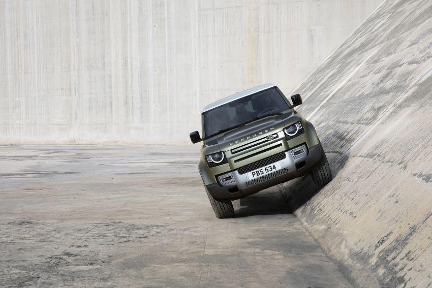 2020 Land Rover Defender debuts – aluminium monocoque, 3.0L mild-hybrid, OTA software support Image #1013235
